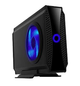 """Icy Box IB-372StU3-B Boîtier Externe pour Disque Dur 3.5"""" SATA USB 3.0 Noir"""