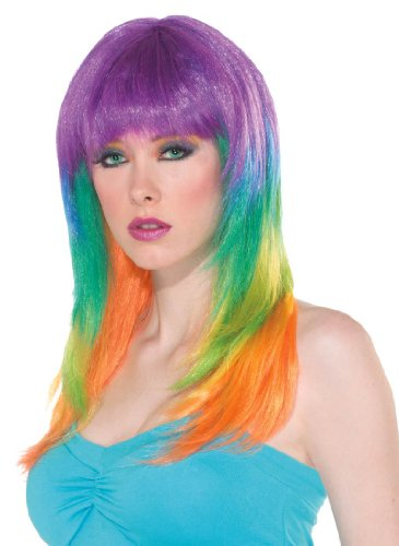 Club Candy Prism Costume Wig - Adult Std.
