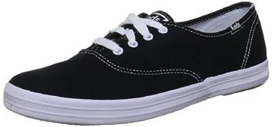 Keds Champion CVO WF31904 Unisex-Erwachsene Sneaker, Schwarz (Black), EU 35.5