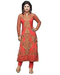 khodiyar fashion red color salwar suit