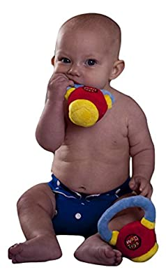 WOD Toys Baby Kettlebell Plush Kettle - Safe, Durable and High Quality Toy for Kids Fitness