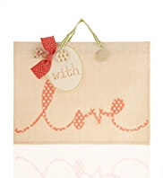 Love Button Large Gift Bag