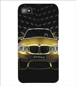 PRINTSWAG YELLOW CAR Designer Back Cover Case for BLACKBERRY Z10