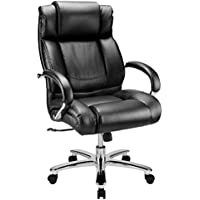 WorkPro 15000 Series Big & Tall High-Back Chair (Black/Silver)
