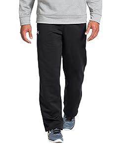 Under Armour Men's Armour® Fleece Open Bottom Team Pants Extra Extra Large Black
