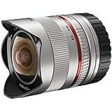 Walimex pro 8/2,8 Fish-Eye II CSC Objectif Argent