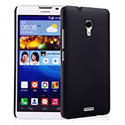 Premium Slim PC Matte Hard Case for Huawei Ascend Mate 2 4G (Black)