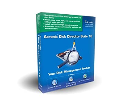 ACRONIS, INC. PCO46350MB DISK DIRECTOR 10