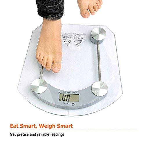 BelleSha Digital Bathroom Scale Most Accurate / Faultless Electronic ...