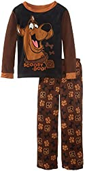 Komar Kids Big Boys' Scooby Doo Thermal Top Pajama Set