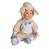 Mary Had a Little Lamb Its Fleece as White as Snow! Infant Costume