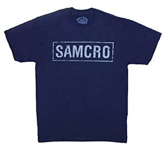 Sons of Anarchy Samcro Cracked T-shirt (Small)