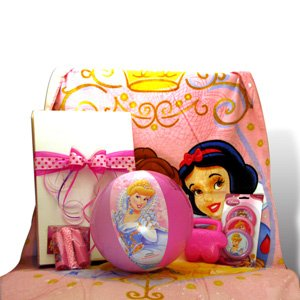 Disney Princess Summer Fun Gift Set Ideal for Birthday and Get well Gift Baskets