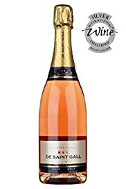 De Saint Gall Ros Brut Champagne - Case of 6