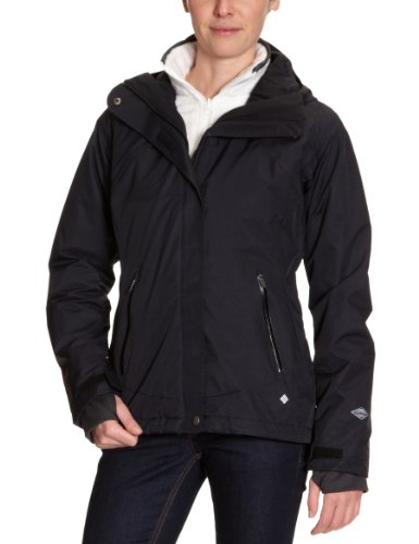 Columbia Bellachat Plush Interchange Women's Jacket - Black/Sea Salt, X-Small