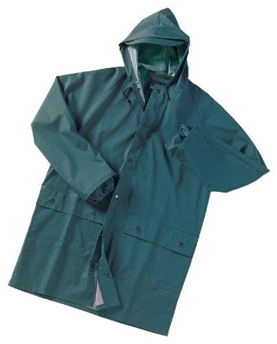 Dutch Harbor Gear Men's Quinault 3/4 Length Coat, Green, Large (Dutch Harbor Rain Gear compare prices)