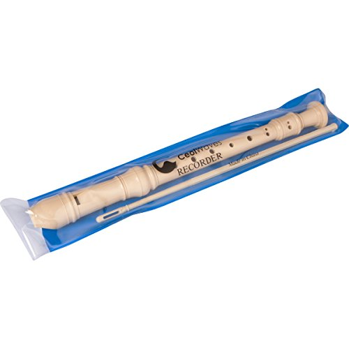 musical-instrument-recorder-case-cleaning-rod-included-school-music-woodwind-for-kids-adults-by-ceol