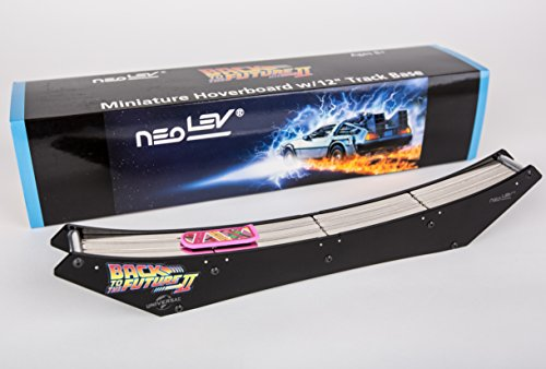 "Back to the Future Miniature Levitating Hover Board with 12"" Base by Neolev"