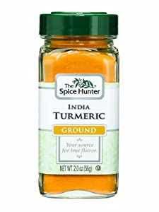 The Spice Hunter Turmeric, India, Ground, 2-Ounce Jars (Pack of 6)