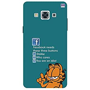 Facebook Needs - Mobile Back Case Cover For Samsung Galaxy J3 Pro