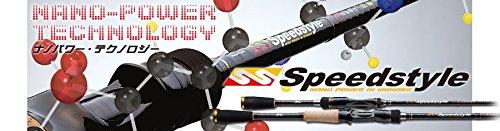 メジャークラフト ロッド スピードスタイルベイトフィネス1ピース SSC-68L/BFの商品画像