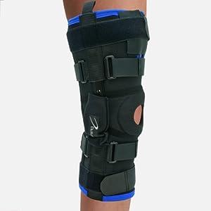 Warrior Genu-Hinged Knee Brace, Regular Pull Up Medium by DeRoyal