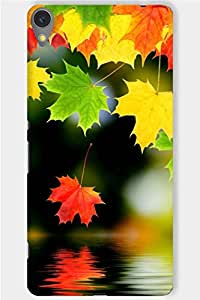 IndiaRangDe Hard Back Cover FOR Sony Xperia C6
