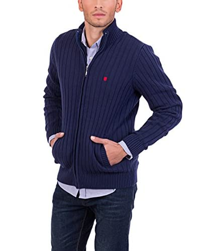 POLO CLUB CAPTAIN HORSE ACADEM Cardigan Gentle Rib Lz