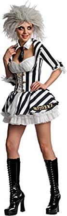 Morris Costumes Women'S Beetlejuice Sexy Adult Costume