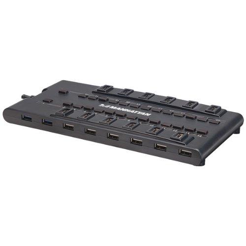 USB Hubs & Switches-Manhattan 28-Port MondoHub