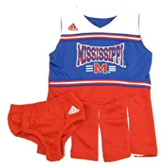 Buy adidas Ole Miss Mississippi Rebels Cheerleader Jumper with Bloomers by adidas