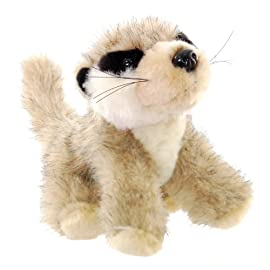 ZSL - Minis Lifelike Soft Toy Meerkat