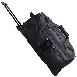 Karabar Extra Large 32 Inch Wheeled Holdall Black