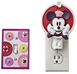 Disney Mod Minnie Mouse Night Light & Switchplate Cover