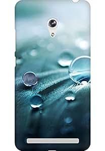 AMEZ designer printed 3d premium high quality back case cover for Asus Zenfone 6 (drops)