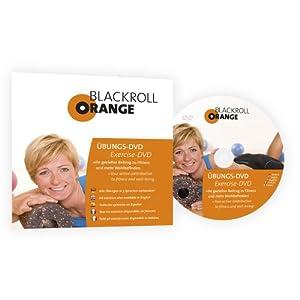 Blackroll Orange (Das Original) - DIE Selbstmassagerolle - Übungs-DVD