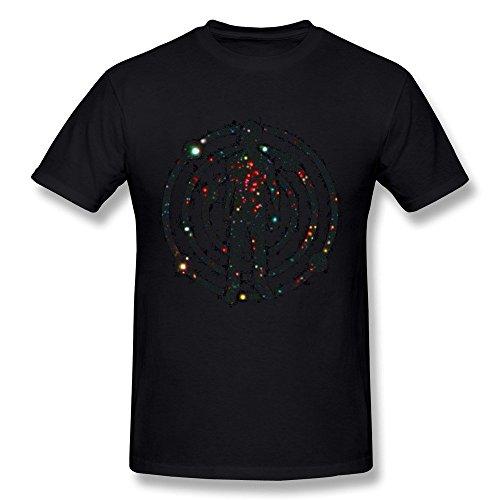 Arnoldo Blacksjd Men's Kid Cudi Presents Satellite Flight The Journey To Mother Moon T-shirt XX-Large