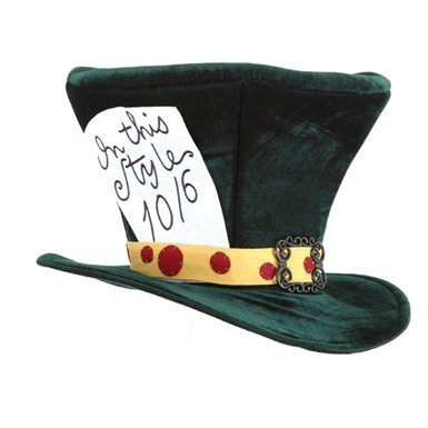 Alice In Wonderland The Madhatter Hat - Adult Size