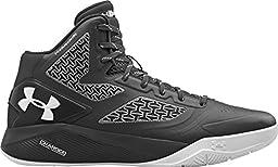 Under Armour Mens Clutchfit Drive 2 Basketball Shoes Black/White 1258143-011 Size 14