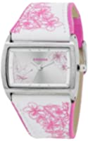 Kahuna Women's Quartz Watch with White Dial Analogue Display and White Plastic or PU Strap KLS-0275L