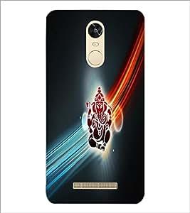 PrintDhaba Lord Ganesha D-4532 Back Case Cover for XIAOMI REDMI NOTE 3 (MEDIA TEK) (Multi-Coloured)