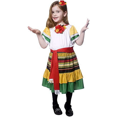 Mexican Dancer Toddler Costume