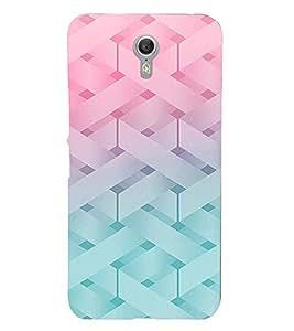 PrintVisa Modern Art Knitted Pattern 3D Hard Polycarbonate Designer Back Case Cover for Lenovo Zuk Z1