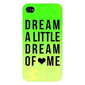 EYP Dream Love Back Cover Case for Apple iPhone 4S