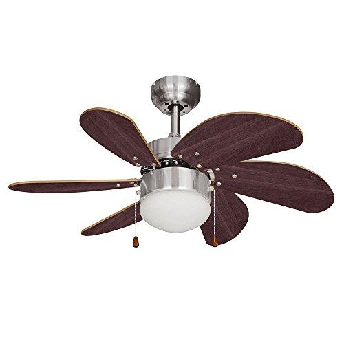 minisun-chrome-argente-et-effet-noyer-76-cm-ventilateur-de-plafond-moderne-6-pales-lampe-integre-ave