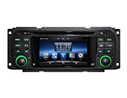 See SDB Car DVD Player With GPS Navigation(free Map) For Jeep Grand Cherokee Wrangler 4.3inch HD Screen Audio Video Stereo System with Bluetooth Hands Free, USB/SD, AUX Input, Radio(AM/FM), TV, Plug & Play Installation Details