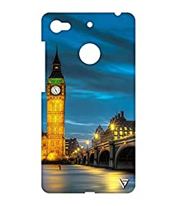Vogueshell Clock Tower Printed Symmetry PRO Series Hard Back Case for LeEco Le 1s