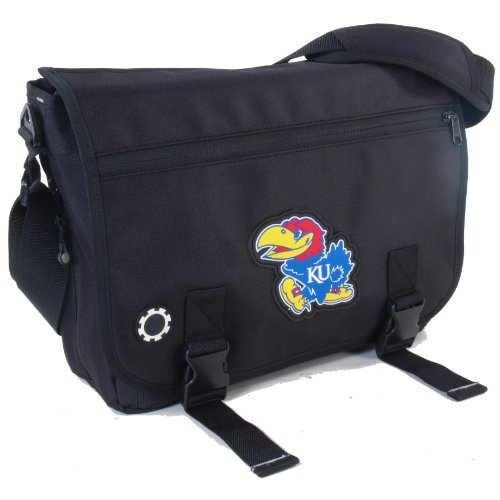 dadgear collegiate series diaper messenger bag kansas diaper bags babies. Black Bedroom Furniture Sets. Home Design Ideas
