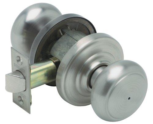 Read More Schlage FA40VAND619 Andover Privacy Knob, Satin Nickel