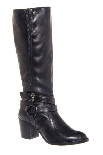 Bussola Woodville 13324 Tall Mid Heel Boot
